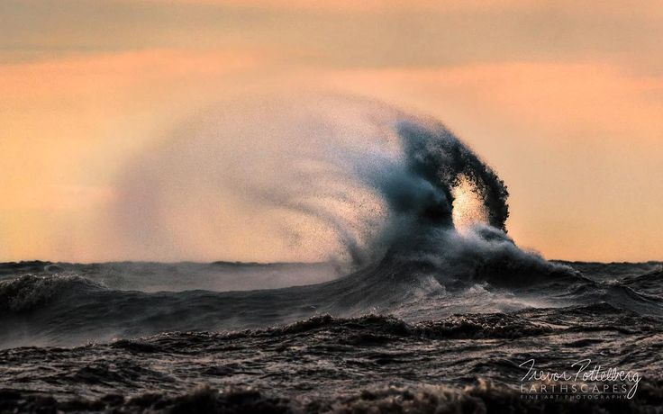The latest piece in my Lake Erie Wave collection is titled Ring of Fire - Order 638 - photographed in Port Stanley Ontario Canada - featuring a unique wave which was formed on a blustery November day.  I was able to capture the tip of the wave as it curled over onto itself forming a ring and allowing the colourful sky to shine through.  Gale force winds carried the back spray quite a distance off the back of the wave. Enjoy!