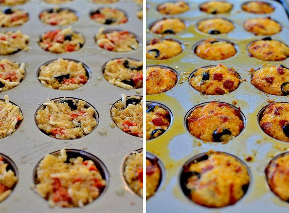 Change up pizza night with poppable, gluten-free Mini Pizza Quinoa Bites! #glutenfree #snack #appetizer | iowagirleats.com