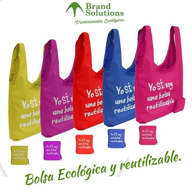 Puedes llevar tu bolsa ecológica autoempacable siempre contigo sin ocupar mayor espacio! Para mayor información visita: http://brandsolutions.com.co/pro…/bolsa-reutilizable-eco-45/ #BolsasEcologicas #Ecobolsas #ReembolsalealPlaneta #SistemaB #EmpresaB #Eco #Yosisoyunabolsareutilizable #Reutilizame