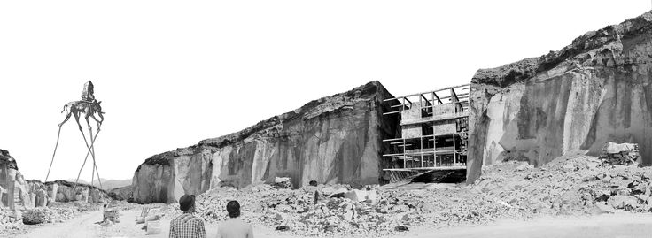 'Vivir en la piedra', Primer Lugar en concurso de ideas Inspiration Hotel 2014 / Arequipa, Perú