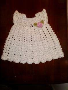 Vorige week haakte ik een jurkje en een mutsje voor de baby. Het was een heel leuk werkje om te doen. Omdat het patroon ...