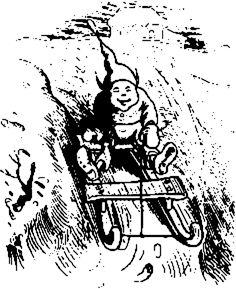 illustrations de wilhelm busch | Die Rutschpartie von Wilhelm Busch - Text im Projekt Gutenberg