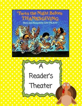 Children love this cute story by Dav Pilkey! This Reader's Theater has roles for four students. Nametags are also included.