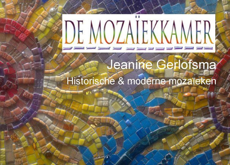 De Mozaiekkamer - Jeanine Gerlofsma
