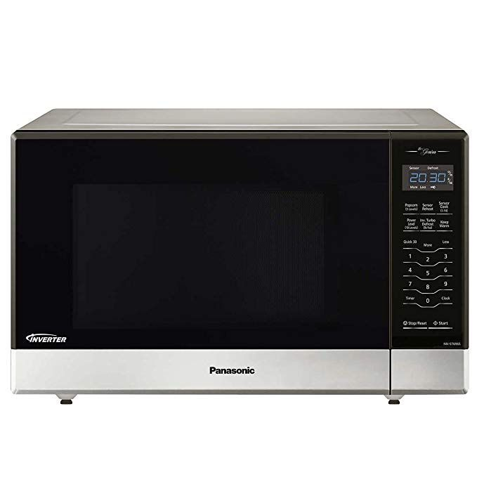 Panasonic Nn St696s Countertop Built In Microwave With Inverter