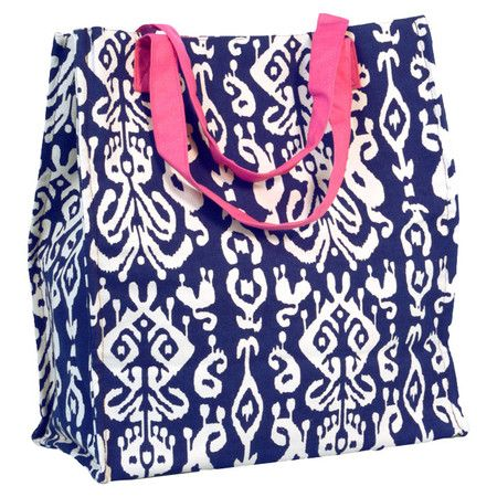 Ikat Shopper Tote Bag