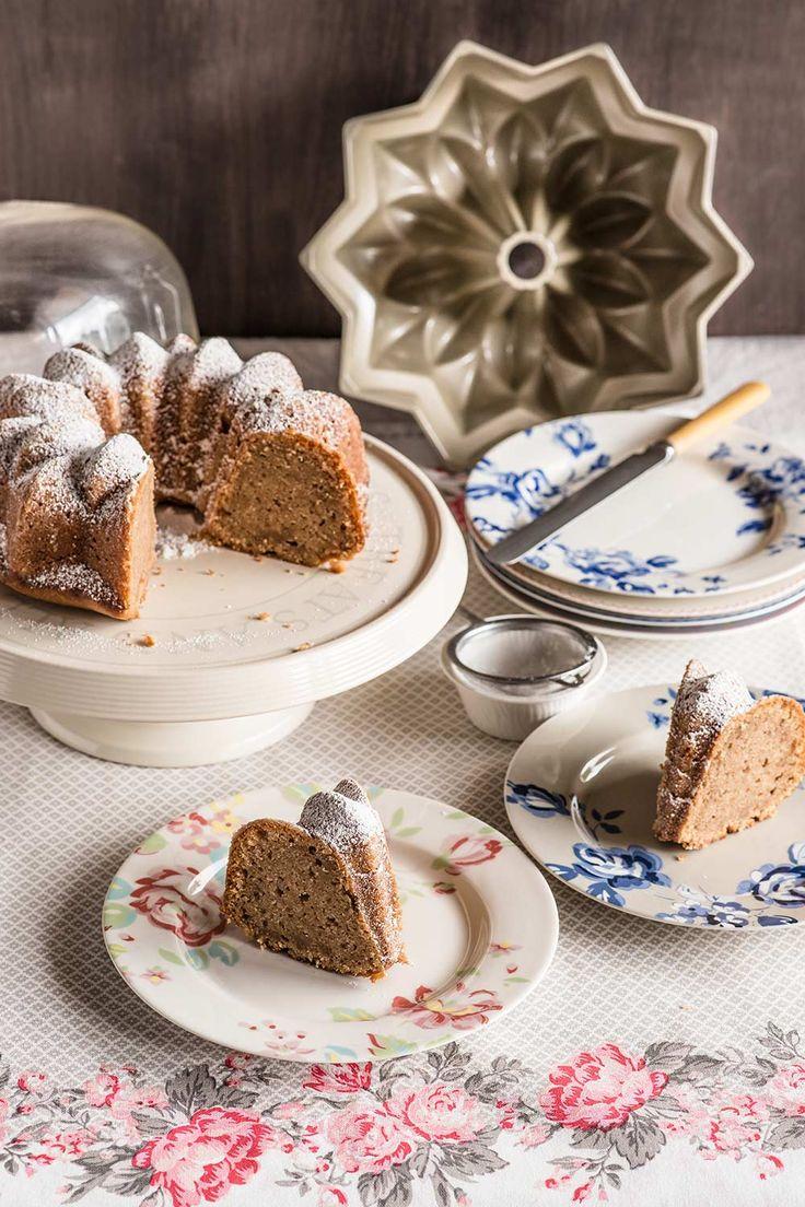 Bundt cake de compota de manzana