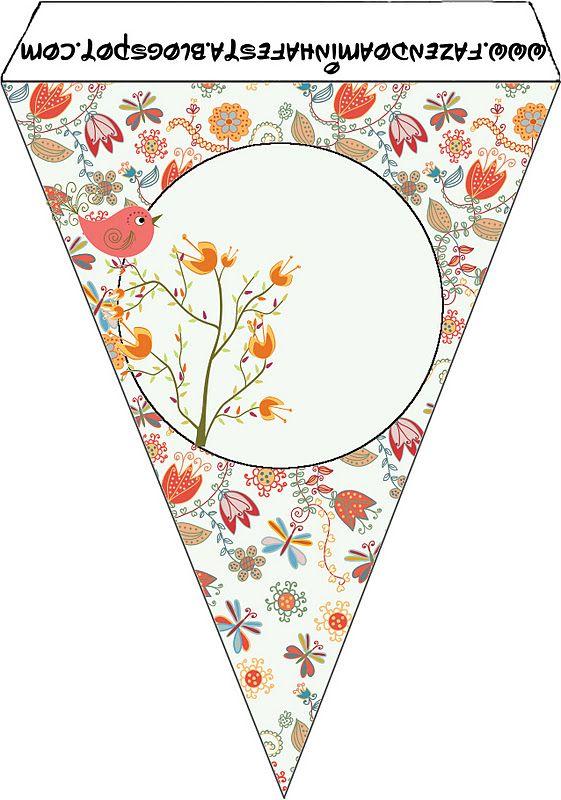 Imprimibles e imágenes de jardín vintage con pajaritos. | Ideas y material gratis para fiestas y celebraciones Oh My Fiesta!