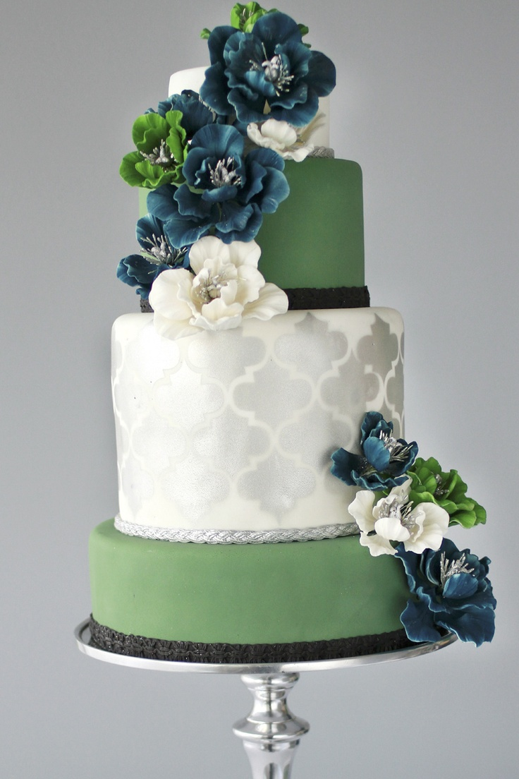 Gorgeous Cake Design By The Caketress photographed by Monique Simone Photography
