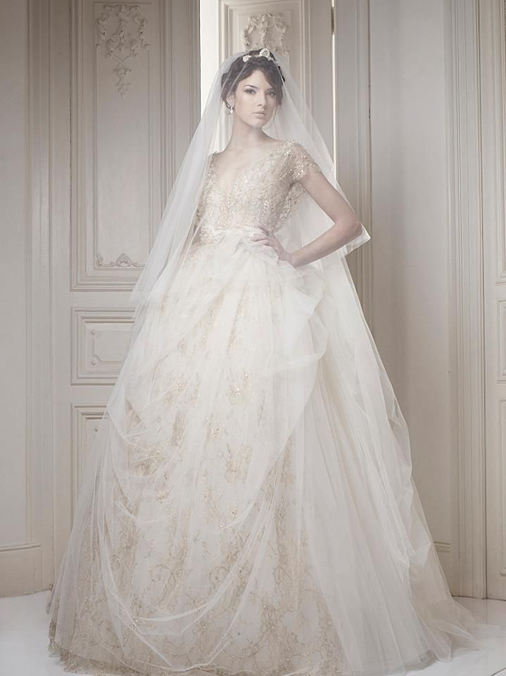 Super glamorous Ersa Atelier Wedding Dresses. To see more: http://www.modwedding.com/2014/02/18/the-best-gowns-from-the-most-in-demand-wedding-dress-designers-part-7/ #wedding #weddings #fashion