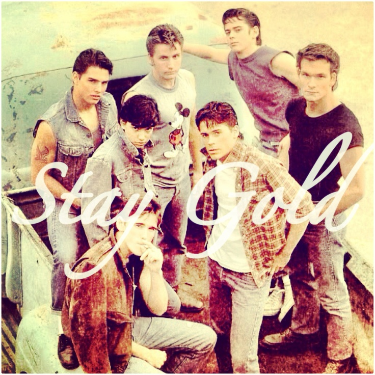 What Page Number Is The Quote Stay Gold Ponyboy On: 158 Best The Outsiders Images On Pinterest