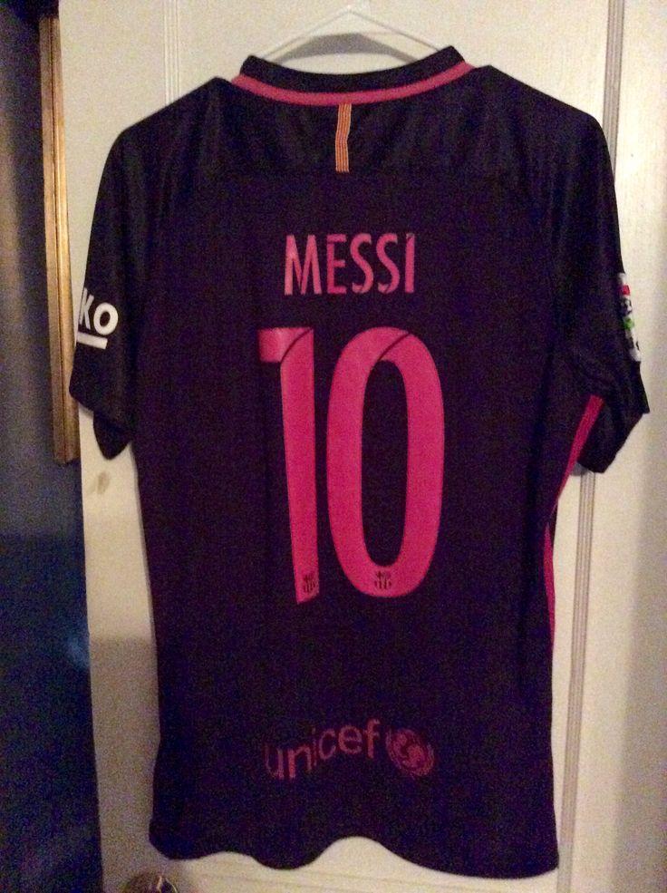 Lionel Messi Barcelona 2016-2017 Away