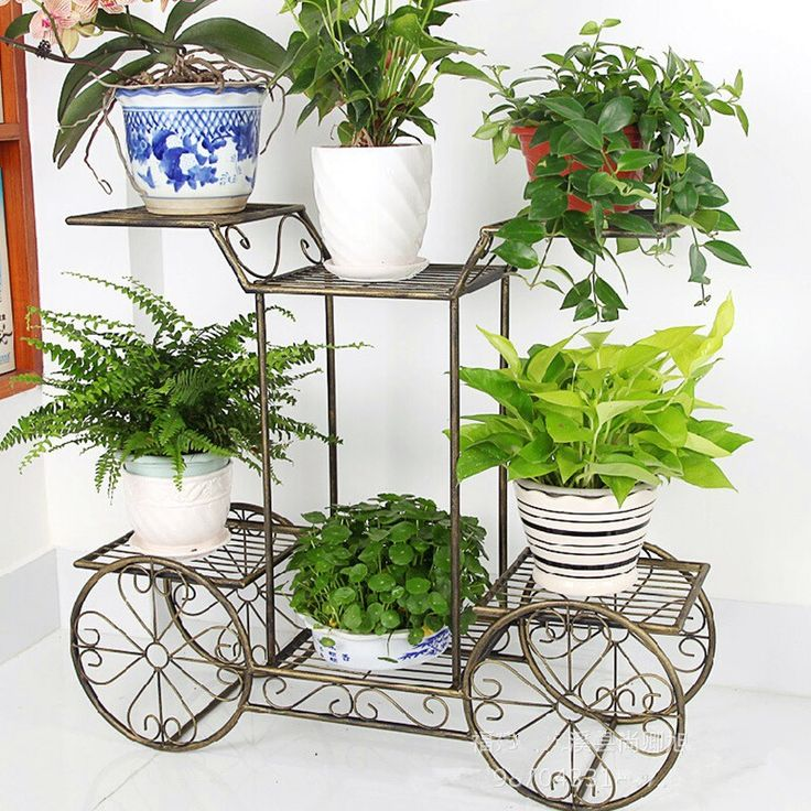 Multilayer  Flower Pots flower stand russian flower stand  multi-layer flower stand jardiniere Shelves Planters