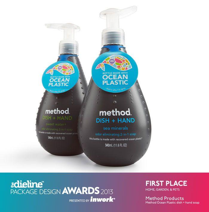 The Dieline Package Design Awards 2013: Home, Garden, & Pet, 1st Place - Method Ocean Plastic - The Dieline -
