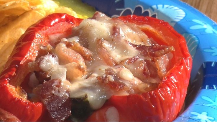Bacon & Cheese Stuffed Peppers by the BBQ Pit Boys | BBQ Pit Boys | Pinterest | Stuffed peppers ...