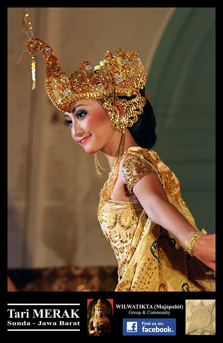 The Sundanese Peacock Dance from West Java Indonesia.