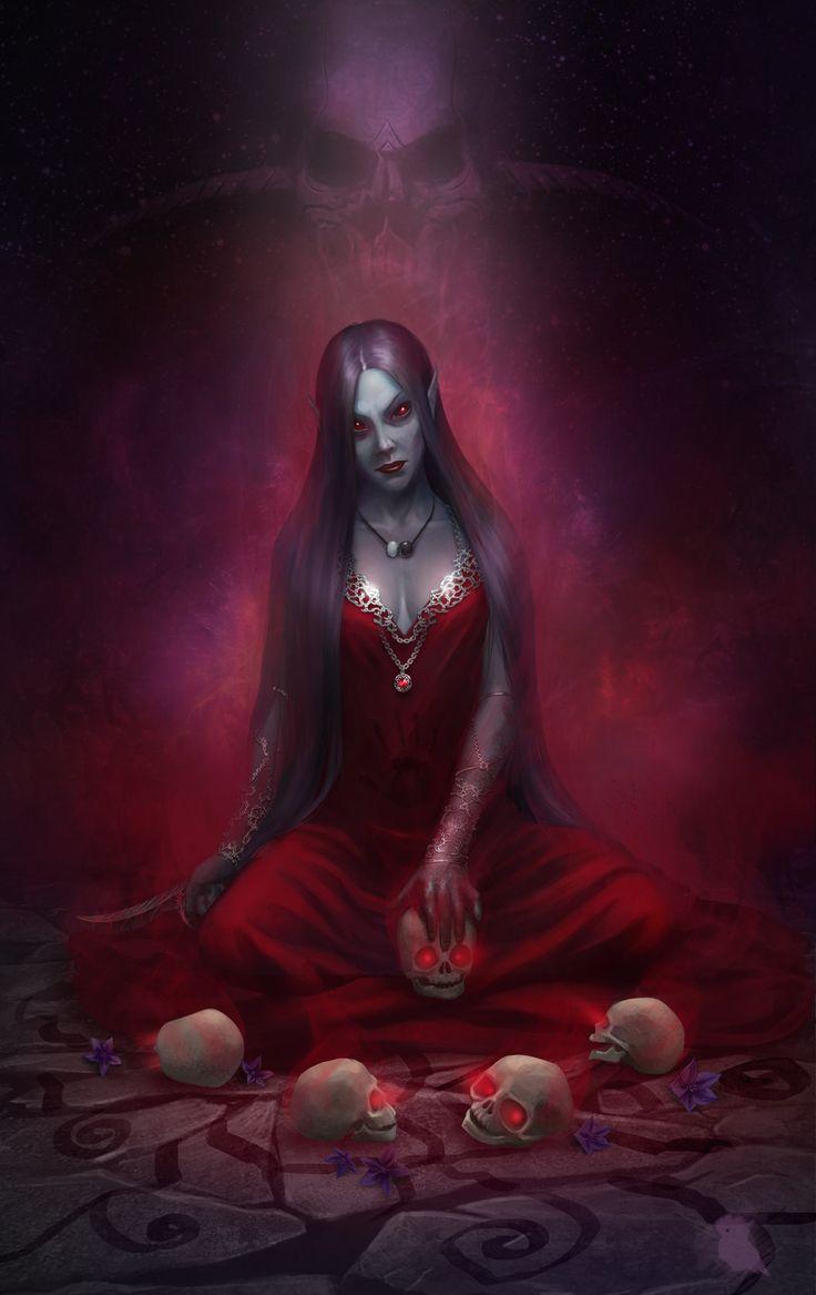 Night Mother by Nafrin.deviantart.com on @DeviantArt