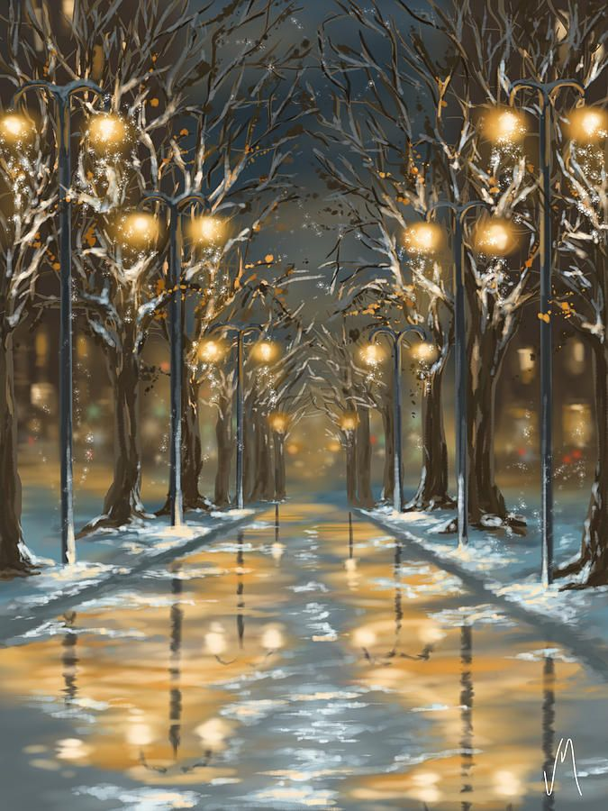 """VERONICA MINOZZI """"In the Park"""" ;traditional painter turns to the Ipad to make her paintings."""