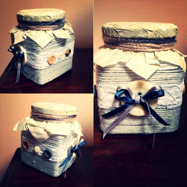 #craftyjar #buttons #string #pizzoebottoni E❤