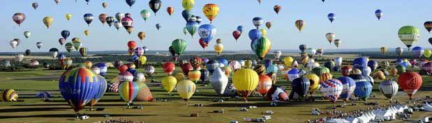 400 Balon Udara Mengangkasa di Prancis