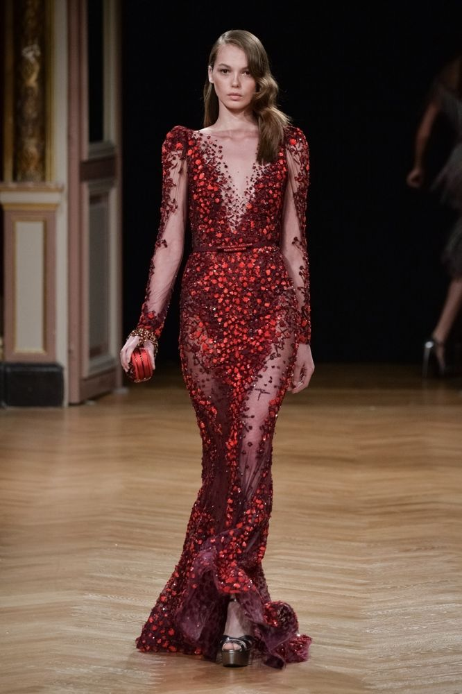 Ziad Nakad Runway Paris Fashion Week Haute Couture