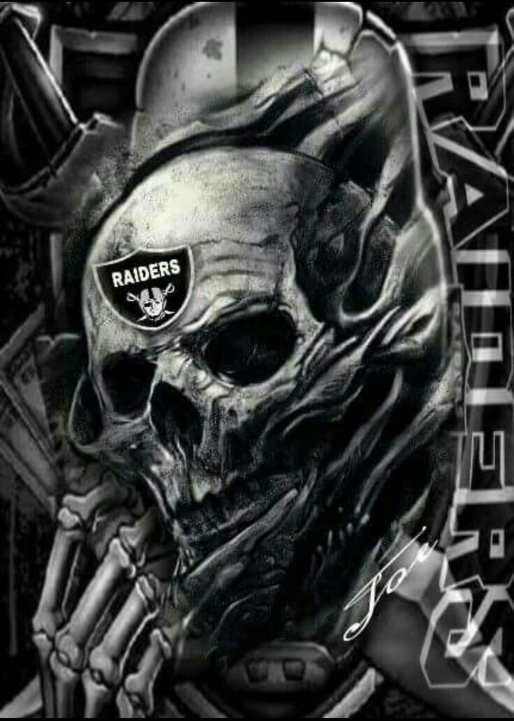 Raiders Skull Tattoo : raiders, skull, tattoo, Wallpaper, Raiders, Tattoos,, Wallpaper,, Skull