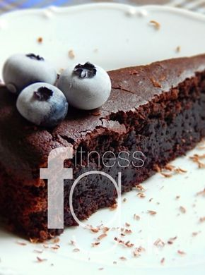 Čokoládový koláč absolútne bez výčitiek