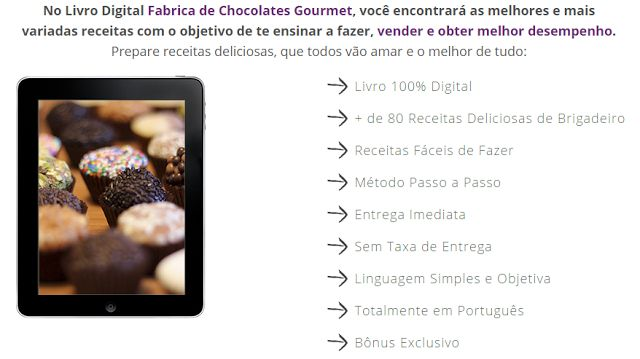 JRF: Curso Fábrica de Chocolates Gourmet   Método Passo...