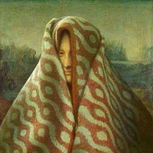 Monalisa In December she would a smiled bigger in her blanket burrito!!!
