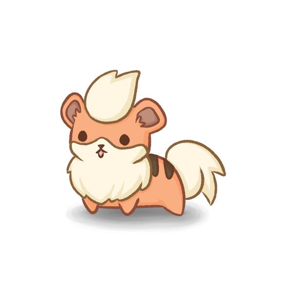 #58 Growlithe by ColbyJackRabbit