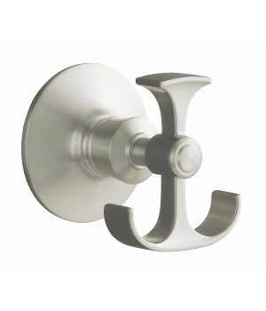 Kohler Archer Series Bathroom Accessories Robe Hook on Faucet-Warehouse.com - Model K-11055-BN