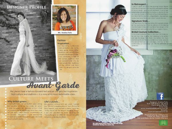Looking for a perfect  gown? Let  Analiza Felix create it for you. FLIP through the Pages of the WEDDING DIGEST LUXE FOR LESS, the Revised Edition. It is converted  into a digital format with updated contents  available for FREE BROWSING at www.weddingdigest.com.ph.   #WeddingDigestPh #emagazine #LuxeforLess #weddings #iloveweddings #designer  #weddingigown #analizafelix