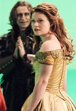 Belle from Once Upon a Time for ABC. Episode not to appear till FEB