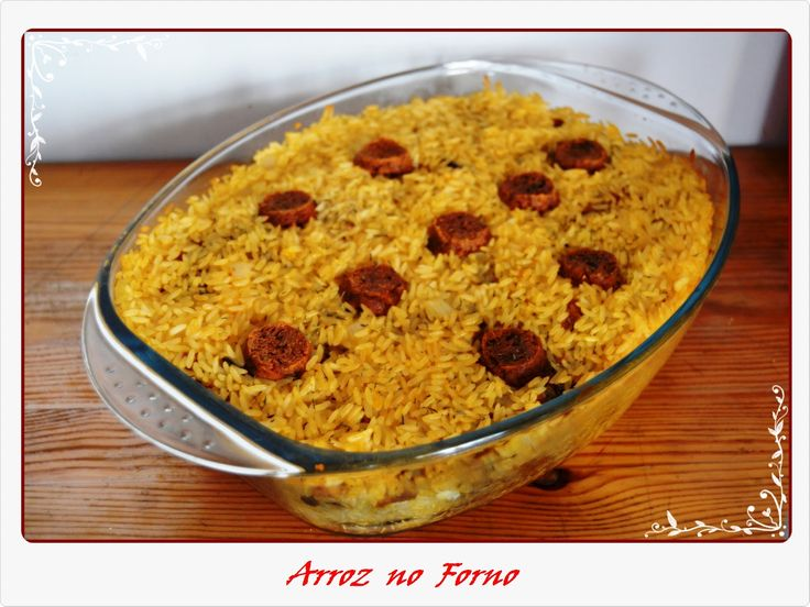 Arroz no Forno