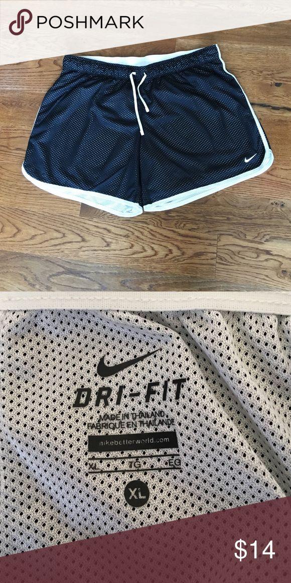 Nike Dri Fit Shorts - Like New - Black & White Super comfy, fully lined Nike Dri Fit Shorts. Like New Condition. Nike Shorts