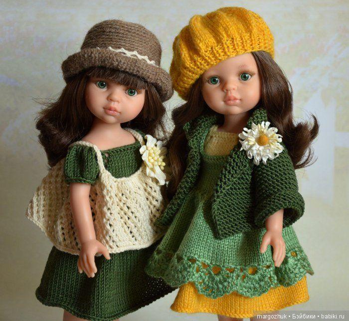 Так что же к лицу зеленоглазке Кэрол? / Paola Reina, Antonio Juan и другие испанские куклы / Бэйбики. Куклы фото. Одежда для кукол