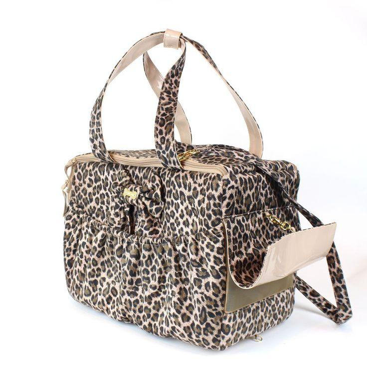 La straordinaria ICONIC BAG di For Pets Only diventa leopardata in questa versione special creata solo per CHIC4DOG.