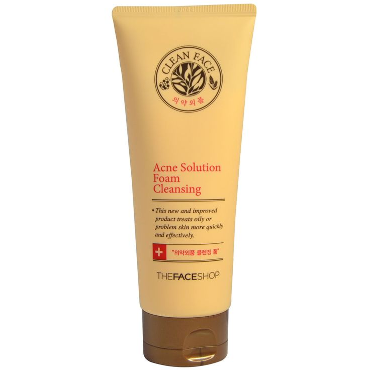 The Face Shop, Acne Solution Foam Cleansing