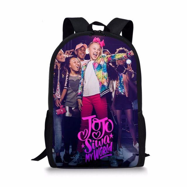 jojo siwa girls School Bags backpacks SchoolBags