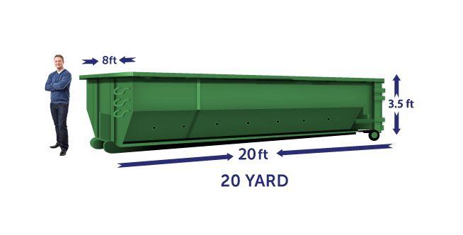 20 yard budget dumpster