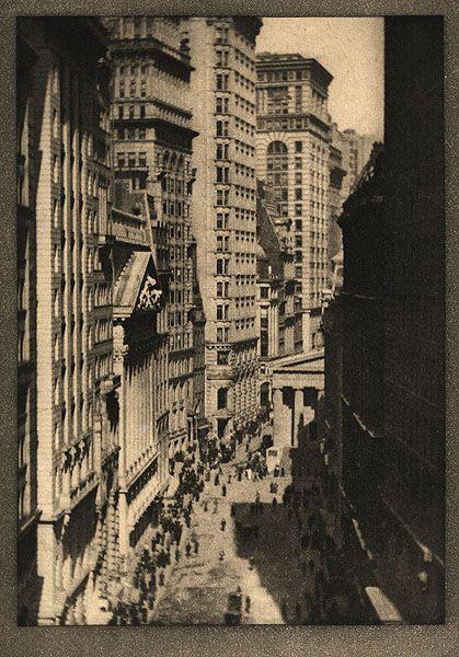 The Stock Exchange, New York,  Alvin Langdon Coburn , 1913