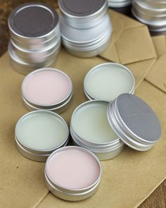 DIY: bálsamos labiales como detalle de boda