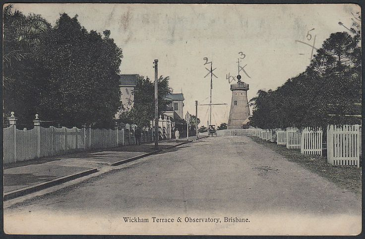 View of Wickham Terrace, The old Windmill Observatory, Brisbane