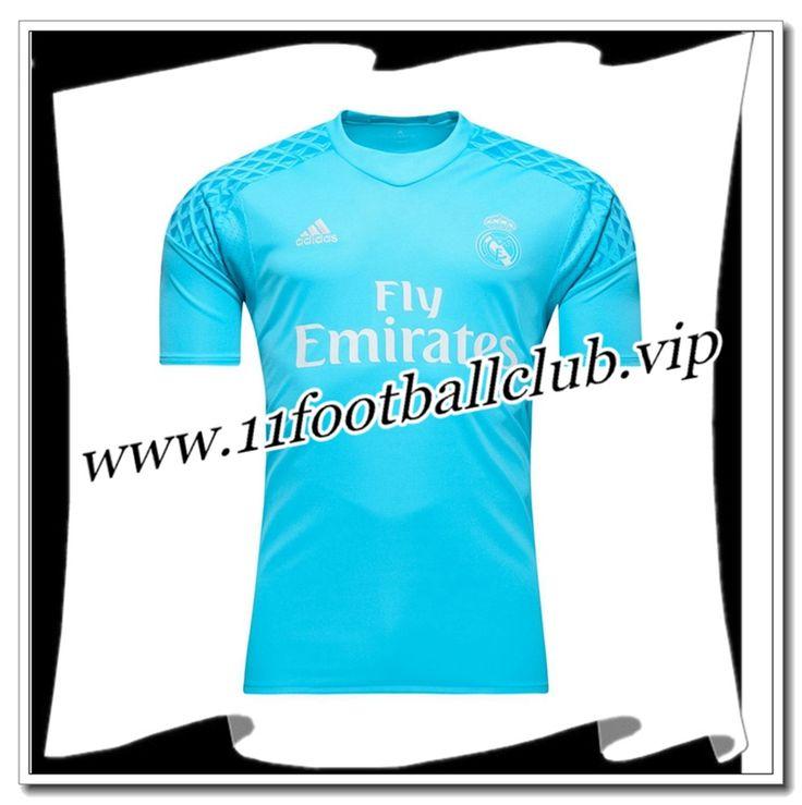 Le Nouveau Maillot Gardien Real Madrid Domicile Bleu 2016/2017 Personnalisable