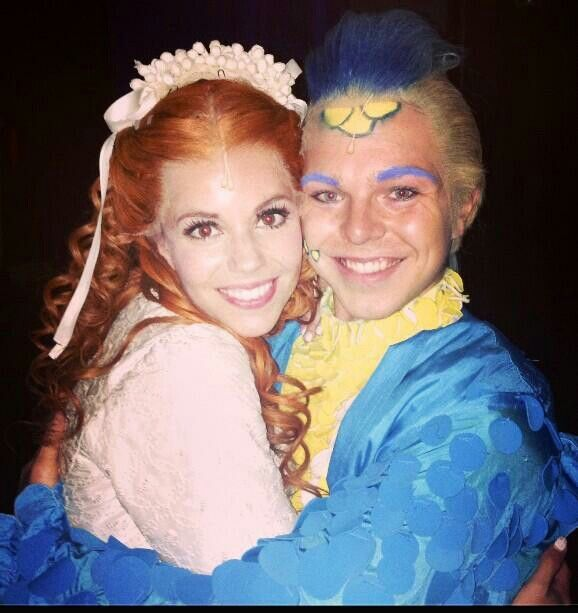 The Little Mermaid! Yvonne and Martijn!