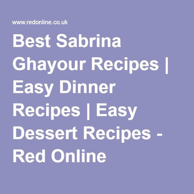 Best Sabrina Ghayour Recipes   Easy Dinner Recipes   Easy Dessert Recipes - Red Online