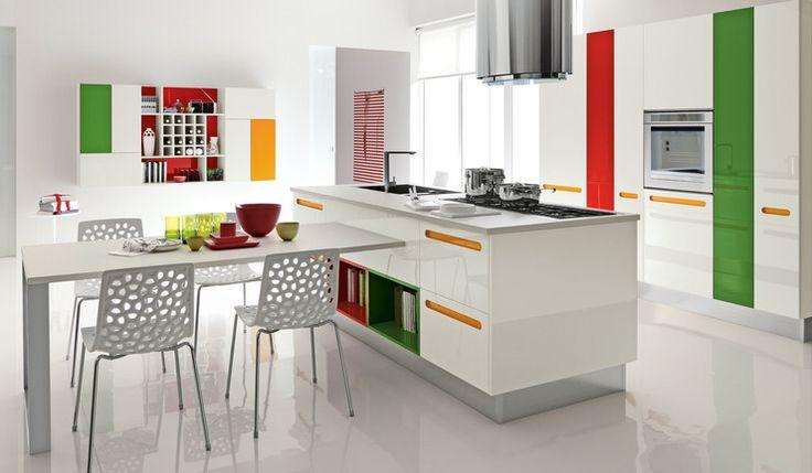 Küche  - küchen im retro stil