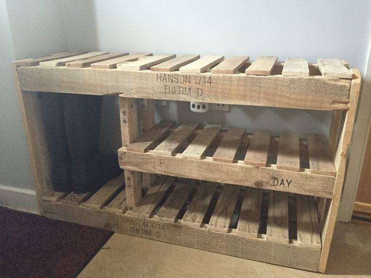 Reduce Fuss And Stay Organized With Diy Shoe Rack