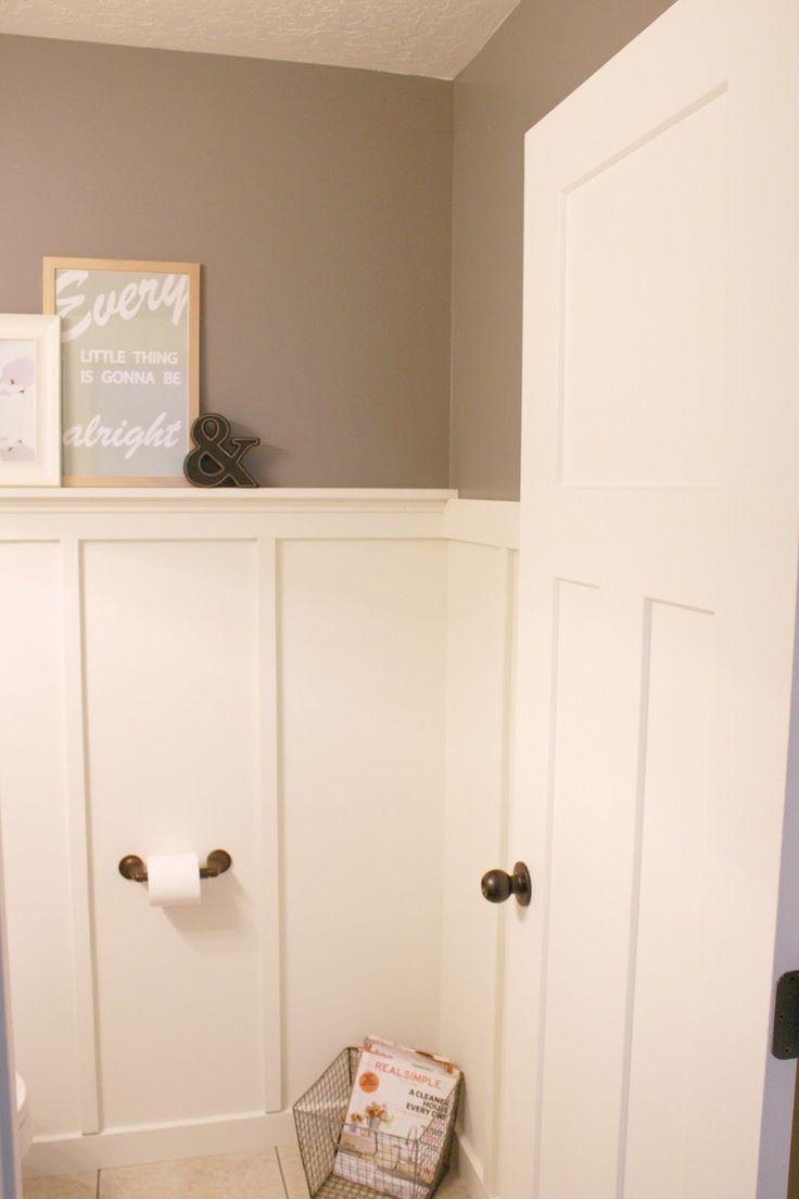 russell camille board and batten bathroom renovation. Black Bedroom Furniture Sets. Home Design Ideas