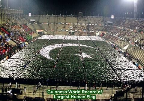 world largest human flag
